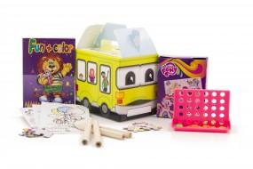 Happy Bag Mädchen ab 6 Größe S: 100x75x85mm Design Bus