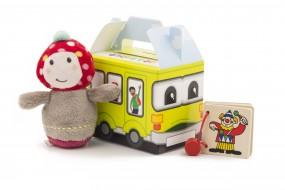 Happy Bag / Kleinkinder Größe S:100x70x85mm Design Bus