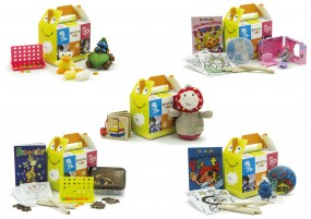Happy Bag Kombi-Paket Var. 3, sortiert Größe:100x70x85mm
