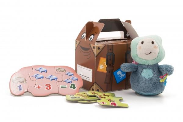 Happy Bag / Kleinkinder Größe S:100x70x85mm Design Koffer