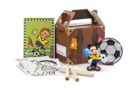 Happy Bag Kombi-Paket Var. 3, sortiert Fußball Größe:100x70x85mm