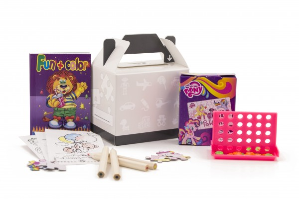 Happy Bag Mädchen ab 6 Größe S: 100x75x85mm Desin Classic