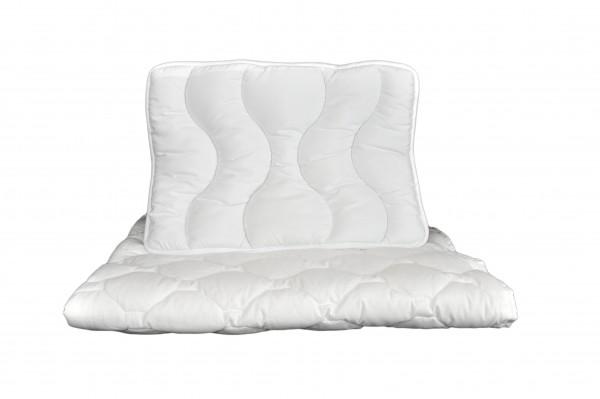 Bettset Decke und Kissen