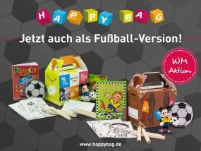 Happy Bag Kombi-Paket Var. 2, sortiert Fußball Größe.100x70x85mm